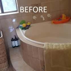 Bathroom 1 before